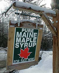 Pure Maple Products Sold Here